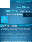 Learn Java Objects Inheritance Overriding Polymorphism