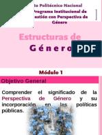 Módulo 1. Estructuras de Género