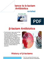 Resistance to B-lactam Antibiotics
