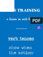 IELTS Training Verb Tenses