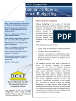 Bg Defence Budgeting
