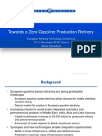 Zero Gasoline Production Refinery-
