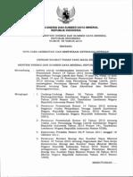 Permen ESDM 05 2014 Tentang Akreditasi Dan Sertifikasi