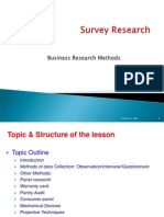 BRM Survey Research