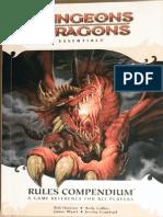 d&d Essentials - Rules Compendium