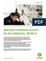 British Foreign Policy in an Unequal World