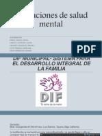 Instituciones de Salud Mental