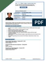 Areatha Resume