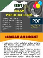 Assesment Dalam Psi Klinis