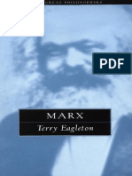 Terry Eagleton Marx the Great Philosophers Series 1