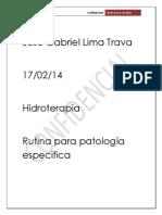 Trabajo Final Rutina Para Patologia Especifica