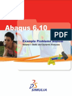 Examples  For abaqus