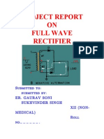 A Full Wave Rectifier