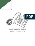 Manual Telefon SMC