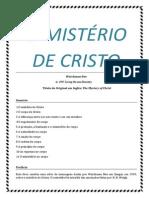 O MISTÉRIO de Cristo