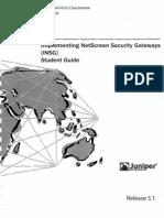 Juniper - Netscreen Insg r5.1 - Student Guide