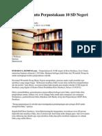 Wismilak Bantu Perpustakaan 10 SD Negeri