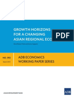 Growth Horizons for a Changing Asian Regional Economy