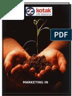 Insurance Marketing mix