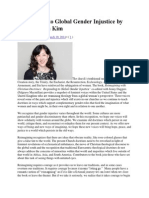 Responding to Global Gender Injustice by Grace Ji