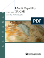 Internal Audit Capability Model IA-CM for the Public Sector Overview