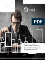 Brochure - RICS Professional Education