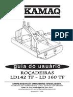 Rocadeira LD142-160 TF Manual