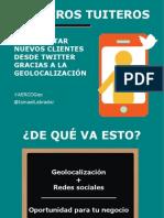 Tenderos tuiteros (#AERCOGeo)