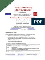 Nurturing Adult Learners Handout BBMullinix Oct09
