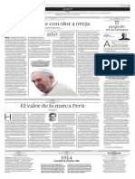 Un pontífice con olor a oveja