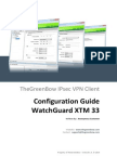 Watchguard XTM 33 VPN Router & GreenBow IPsec VPN Software Configuration