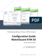Watchguard XTM 33 VPN Router & GreenBow IPsec VPN Software Configuration