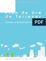 Plan de Usos de Terrenos Borrador 2 II 2014 r 1