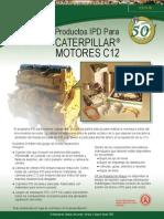 Material Productos Ipd Motores c12 Caterpillar
