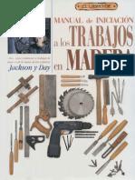 Manual de Iniciacion a Los Trabajos en Madera