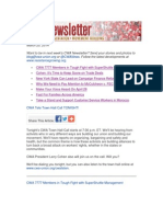 CWA Newsletter, Thursday, March 20, 2014