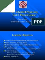 Process Control Knitting