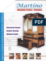 Brosur Organ Pipa - Orgel