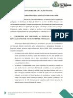 Diretrizes Pedagogicas Da Educacao Infantil 2014