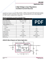 An-H40-High Voltage Linear Regulators