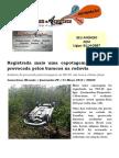 Registrada Mais Uma Capotagem Na PB148 Provocada Pelos Buracos Na Rodovia