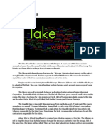 Story of Two Lakes