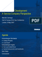 Schlumberger Local Content Initiatives in Angola
