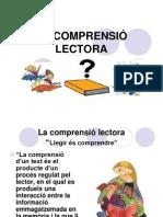 LA COMPRENSIÓ LECTORA
