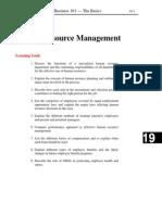 Human Resource Management - 101