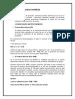 TEORÍA DE LOS AGREGADOS ECONÓMICOS (1)