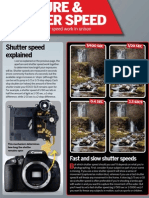 Canon Skills - Aperture & Shutter Speed