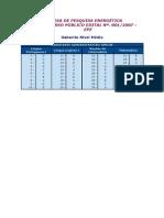 Cesgranrio 2007 Epe Analista de Pesquisa Energetica Transmissao de Energia Gabarito