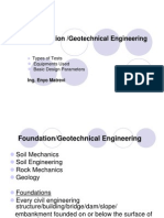 Foundation_Geotechnical Engineering - GHA