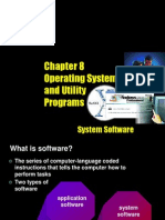 8. Operating Systems and Utility Programs